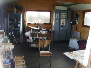 Atelier Denis Huneau 1, Mozé, France